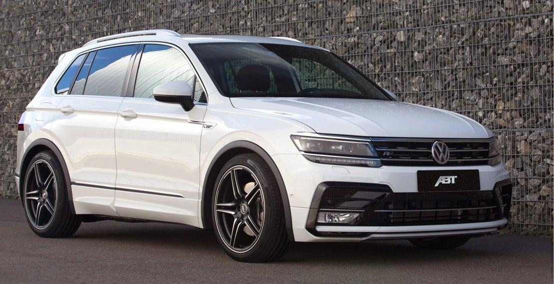 ABT le da un toque picante al nuevo Volkswagen Tiguan: Más potente y con suspensiones rebajadas