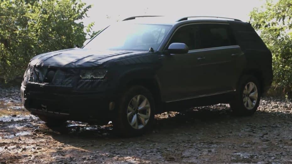 """El nuevo SUV mediano de Volkswagen se llamará """"Atlas"""": Se presentará el mes que viene"""