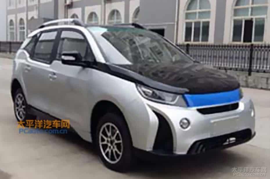 """Y aquí tenemos el nuevo eléctrico chino: """"Un copy paste del BMW i3"""""""