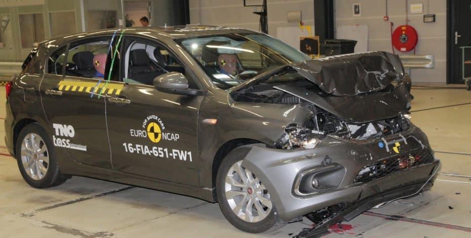Tres estrellas EuroNCAP para el Fiat Tipo: Lejos de sus rivales