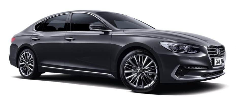 Aquí está la nueva generación del Hyundai Azera: Más lujoso y dinámico