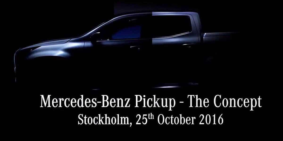 La semana que viene Mercedes presentará el nuevo pick up de una tonelada