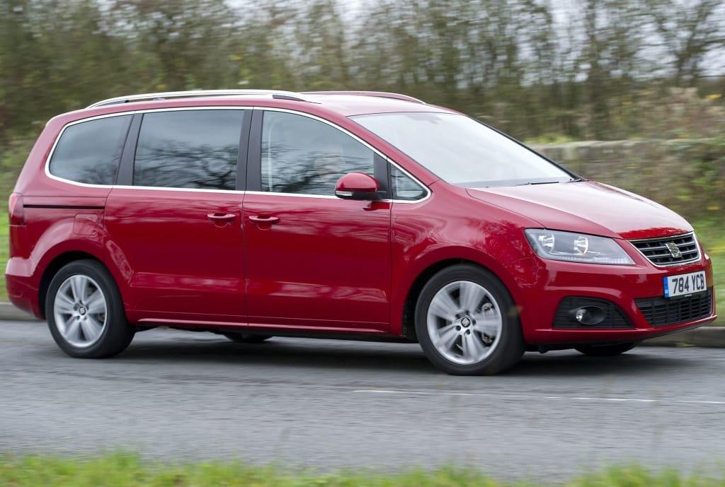 Nuevo motor diésel y tracción total para el SEAT Alhambra: 210 km/h para el MPV