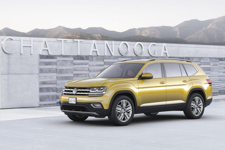 Este es el nuevo Volkswagen Atlas que no verás por aquí: Sólo para Estados Unidos