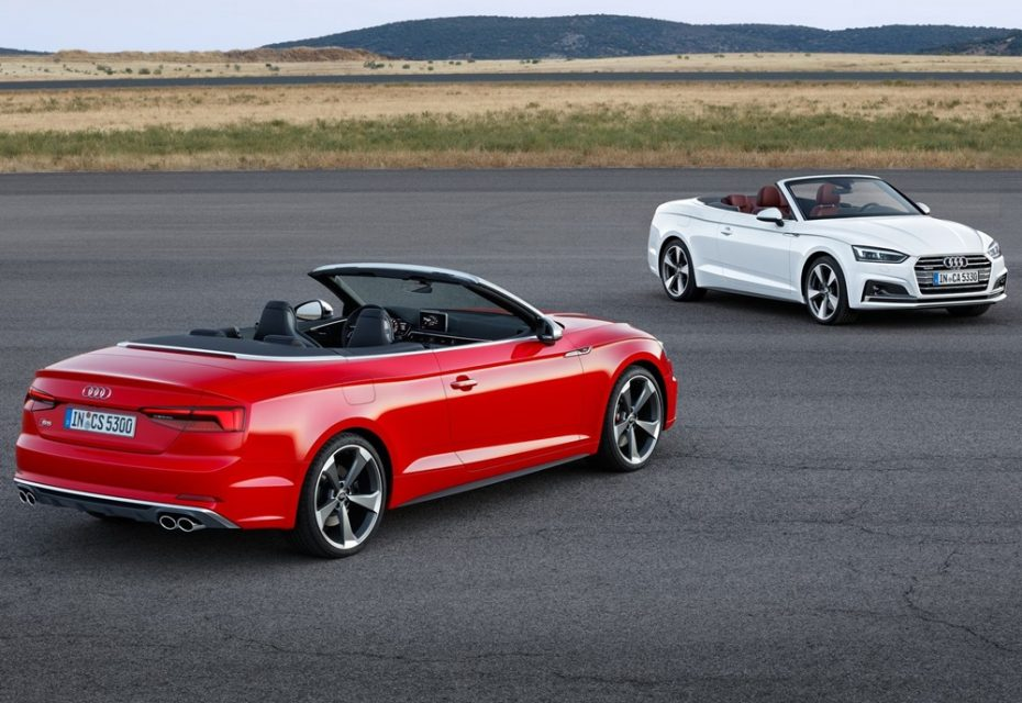 Llegan los Audi A5 y S5 Cabrio: Lo mejor de dos mundos también a cielo abierto