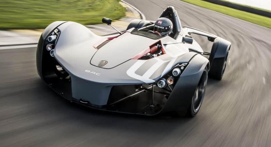 BAC Mono 2017: El superdeportivo británico que podría pasar perfectamente por el coche de Batman