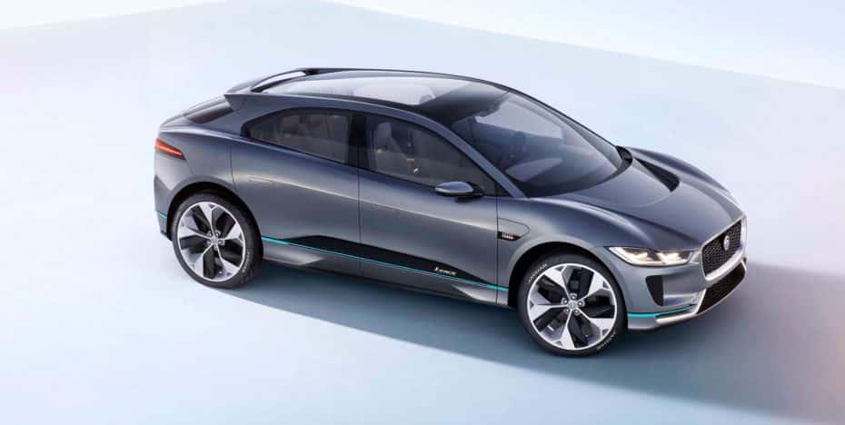 Jaguar I-PACE Concept: 700 Nm de par instantáneo para lanzarte de 0 a 100 km/h en 4 segundos