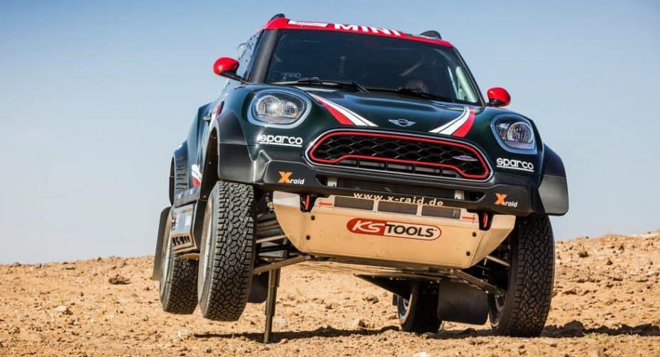 MINI John Cooper Works Rally: Un gigante para el mundo de la competición con 340 CV y puro músculo