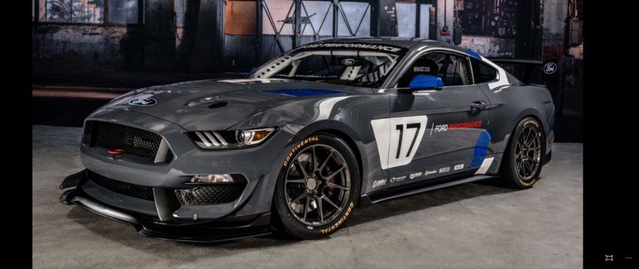 Ford Mustang GT4: La última bestia de Ford Performance para arrasar en la competición internacional