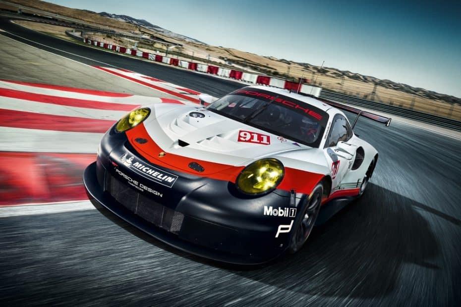 El Porsche 911 RSR 2017 ya esta listo para arrasar en los circuitos: Así es la bestia de Stuttgart