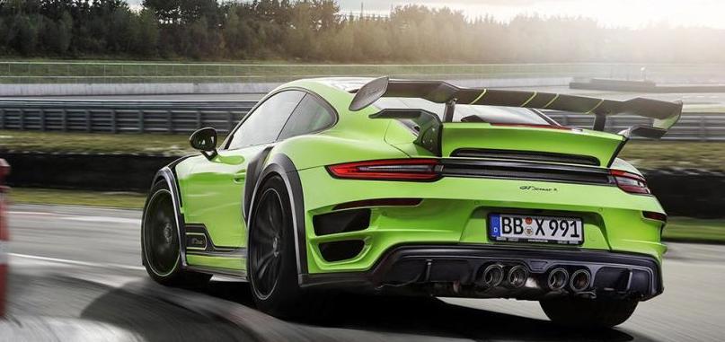 Si Hulk fuera un coche sería este Porsche 911 GTStreet R: El 'nueveonce' más bestia jamás creado
