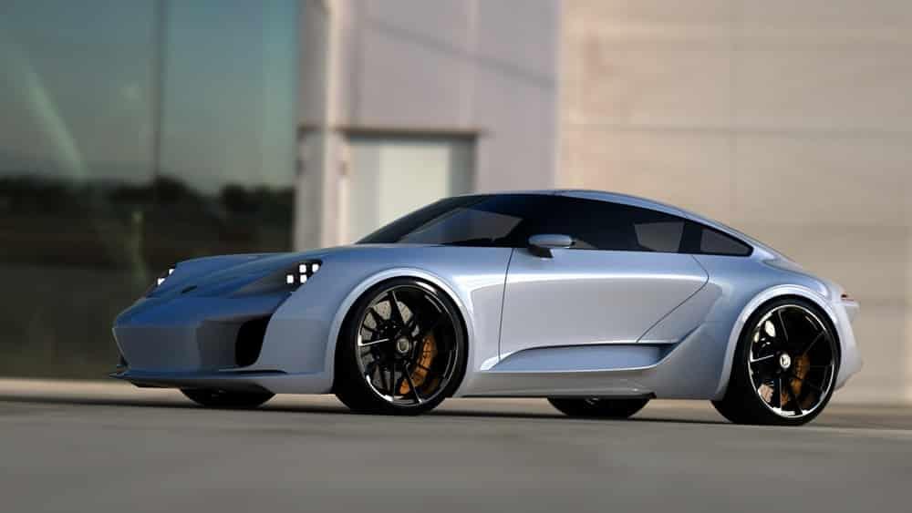 ¿Y si el diseñador del Bugatti Chiron creara el próximo Porsche 911? Juzgad por vosotros mismos