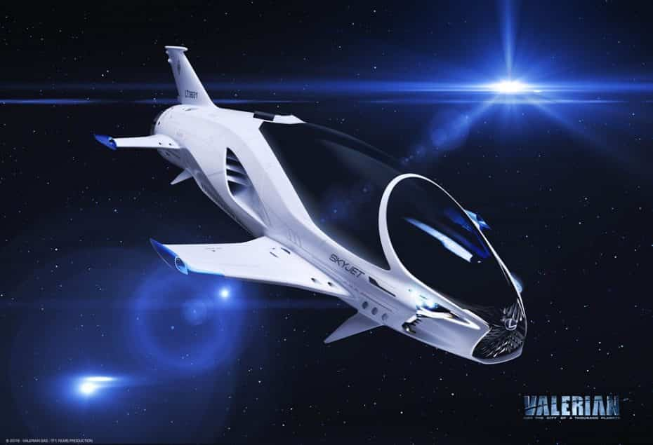 Por ahora solo protagonizará una película pero, ¿será SKYJET la nave espacial de Lexus del Siglo XXVIII?