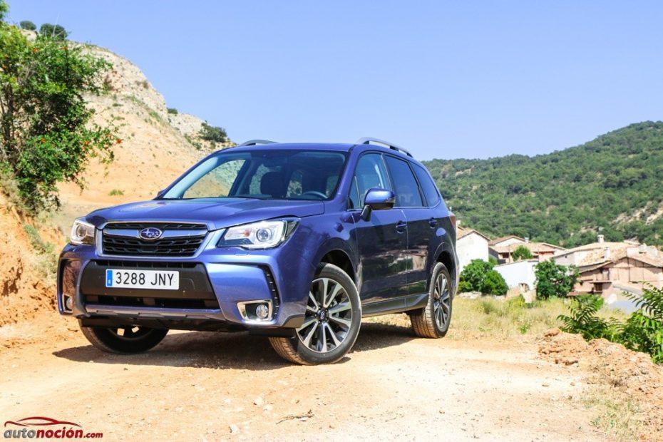 Prueba Subaru Forester 2.0D Lineartronic Executive Plus: Devorarás kilómetros dentro y fuera del asfalto