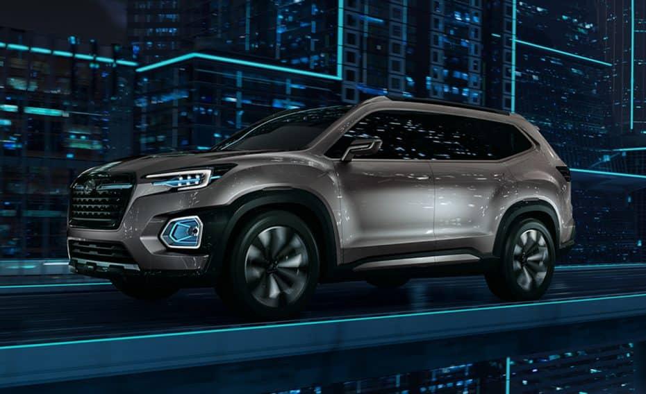 Ojo al Subaru VIZIV-7 Concept: Un imponente rival para el Volkswagen Atlas