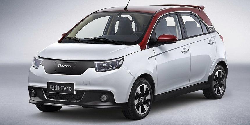 Dearcc, la nueva marca china para «cafeteras eléctricas» con cuatro ruedas