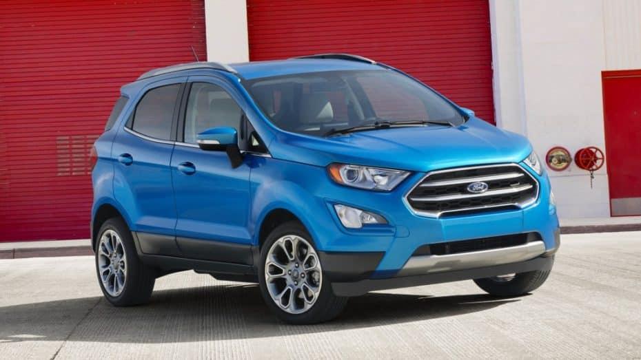 Este es el renovado Ford EcoSport: Algo más de estilo para el crossover