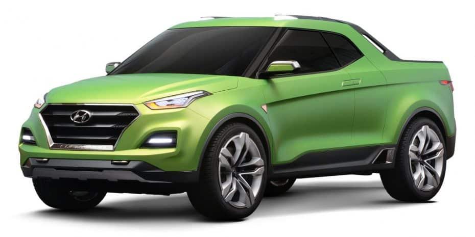 El Hyundai Creta STC nos enseña cómo podría ser el futuro pick up de la marca