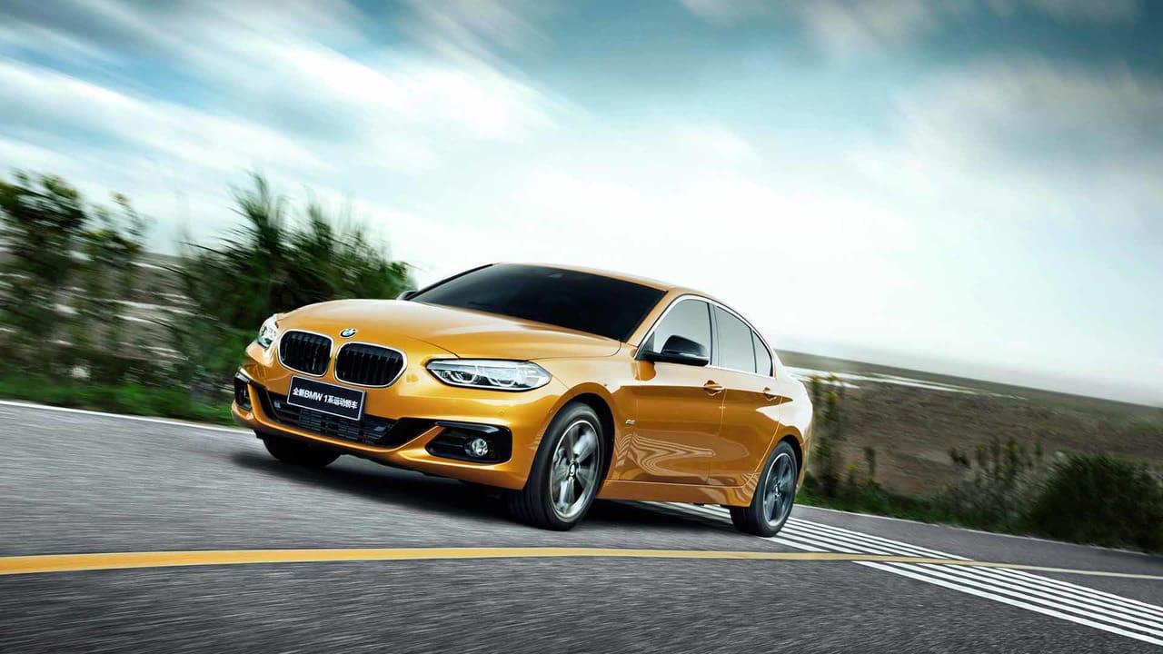 Este es el nuevo BMW Serie 1 Sedán que no podrás comprar aquí