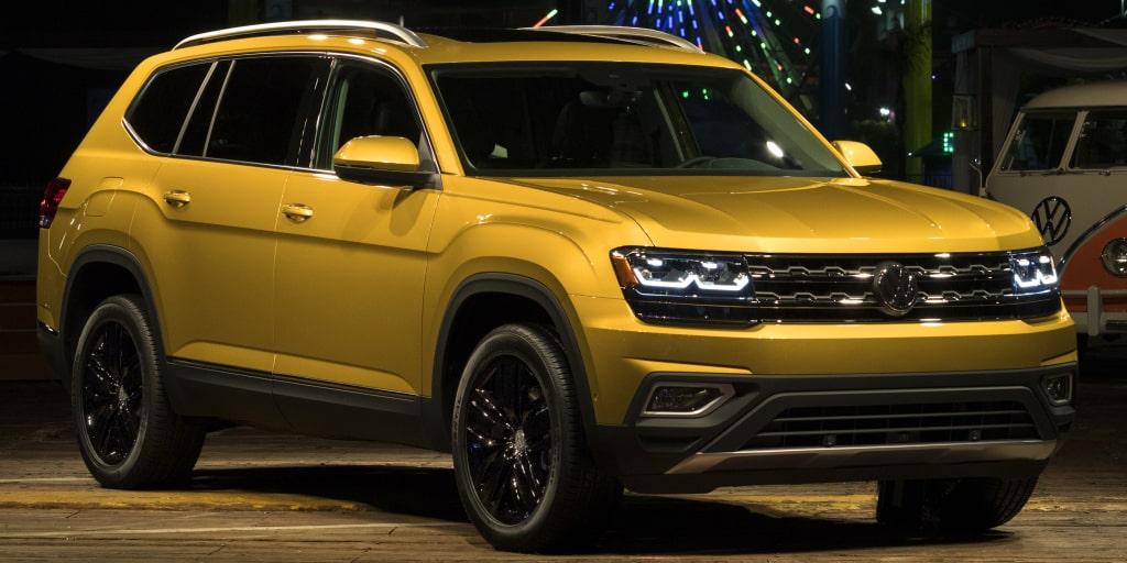El Volkswagen Atlas debuta en Estados Unidos: Diseño aburrido y mucho espacio