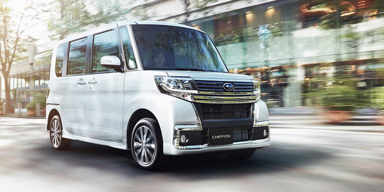 El Subaru Chiffon es curioso y extraño: Sólo para Japón