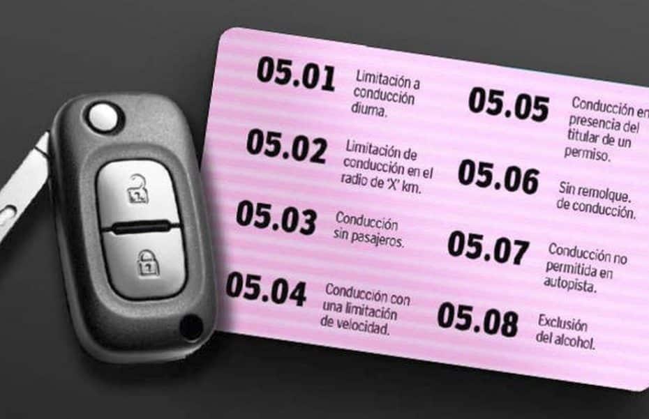 ¡Atento conductor! Estos son los nuevos códigos del permiso de conducir para 2017