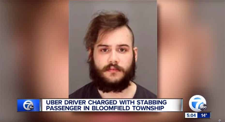 """La gente está chalada: Un conductor de Uber apuñala a su cliente por ser """"irrespetuoso"""""""