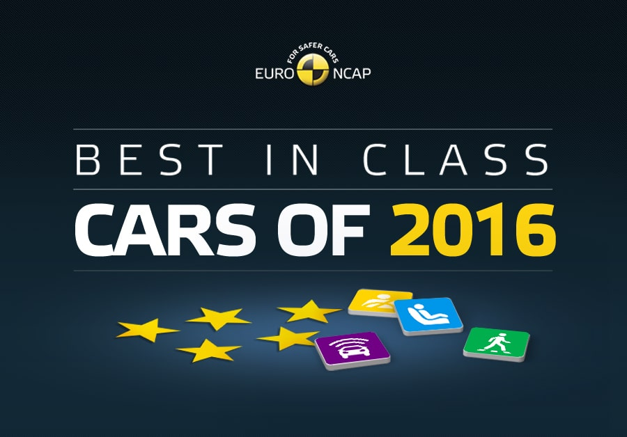 Estos son los coches más seguros de su categoría en 2016 según EuroNCAP ¿Sorprendido?