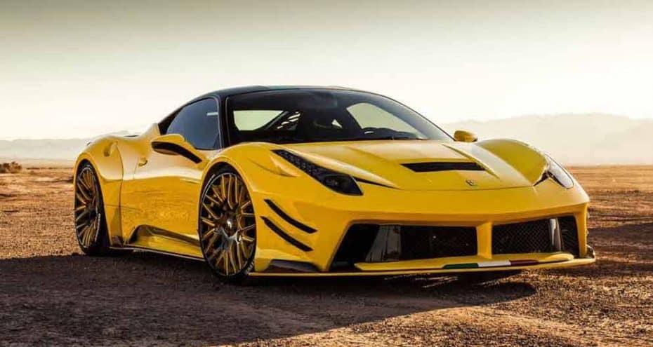 Este estrambótico kit de Prior-Design hace de tu Ferrari 458 Italia toda una bestia sin igual
