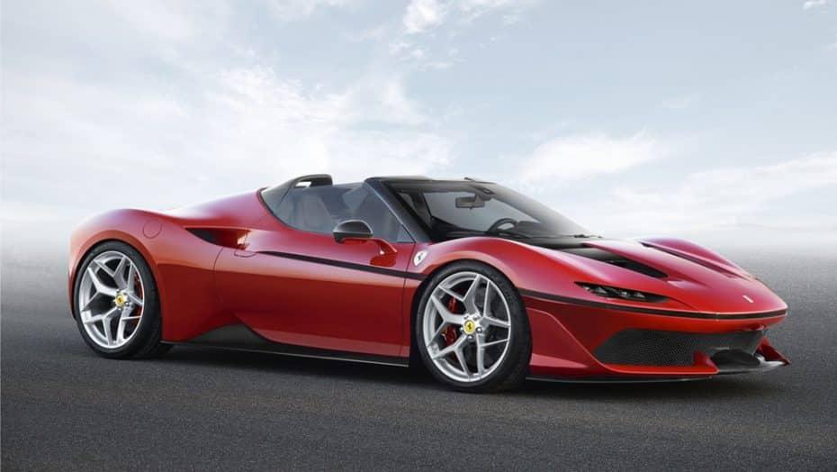 Ferrari J50: La firma italiana mima a sus clientes japoneses con esta exclusiva edición especial