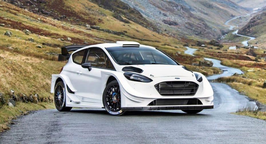 Ford Fiesta WRC 2017: Nos falta verlo con el vinilado, pero bajo el capó es una bomba de relojería