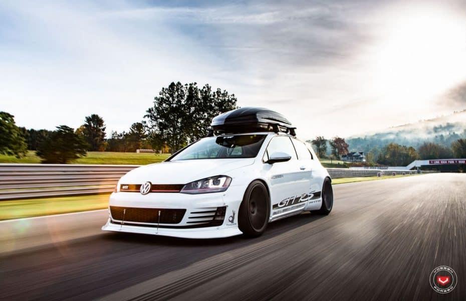 Ojo, este VW Golf ha sido bautizado como GTI RS y no es una broma…