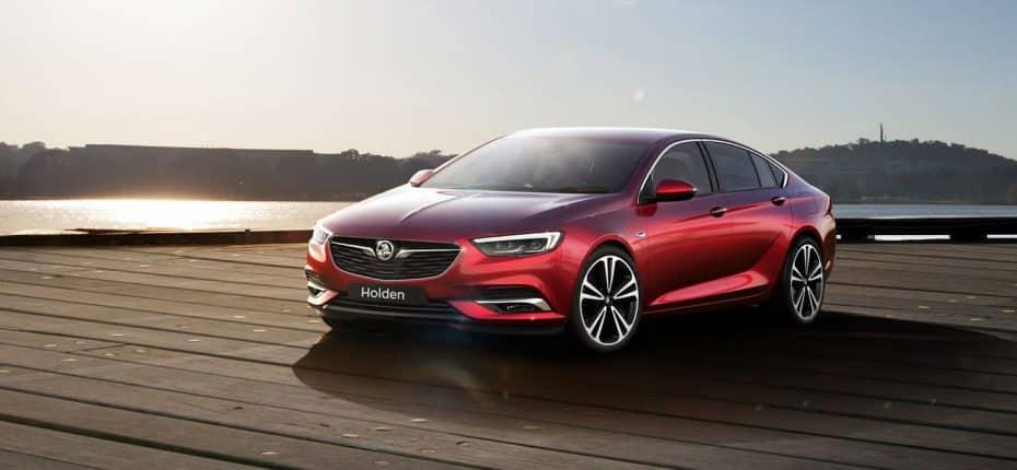 Aquí está el nuevo Holden Commodore para Australia, ¿te suena? Tendrá 308 CV