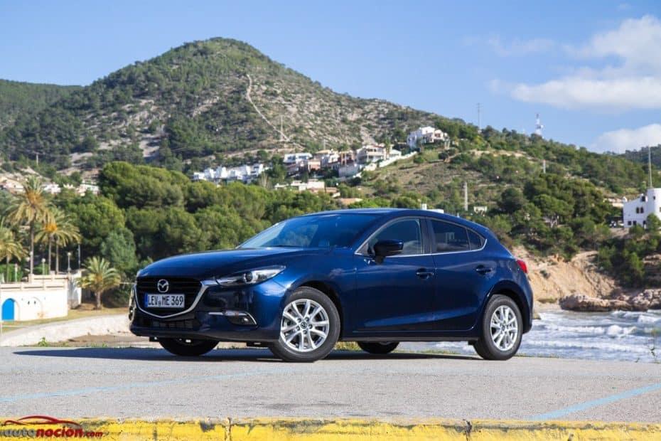 Contacto Mazda3 2.0 SKYACTIV-G 120 CV Style 2017: Más dinámico y tecnológico que nunca