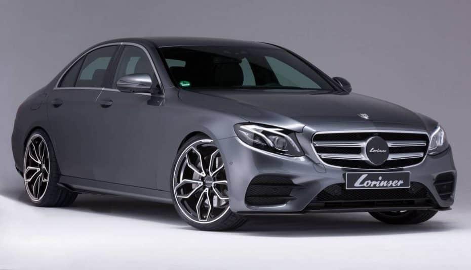 Lorinser transforma tu Mercedes-Benz Clase E: Sutil y deportivo, siempre con mucha clase