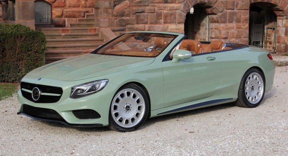 ¡Verde que te quiero verde! Seguramente no pagarías por este Clase S Cabrio lo que piden por él