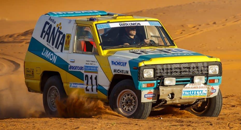 Nissan restaura el mítico Patrol del Rally París-Dakar 1987 ¡Y ha vuelto al Sahara como nuevo!
