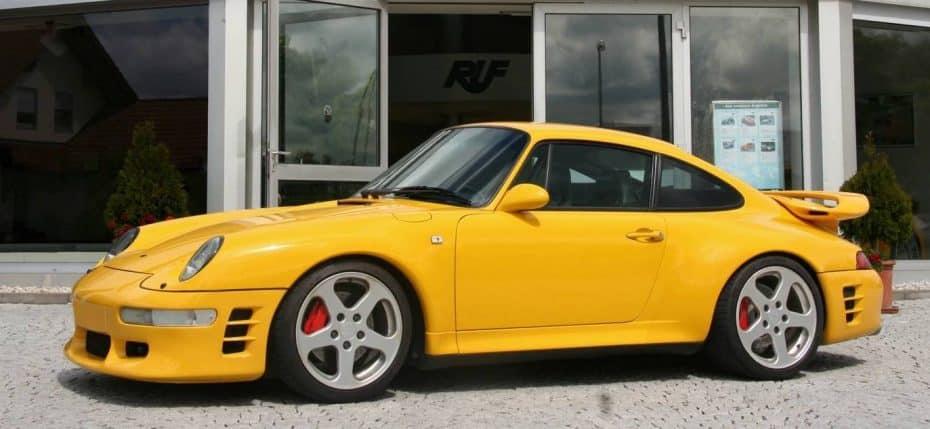 RUF Automobile ha transformado este Porsche 993 y ahora desarrolla casi 600 CV y está recubierto de fibra de carbono