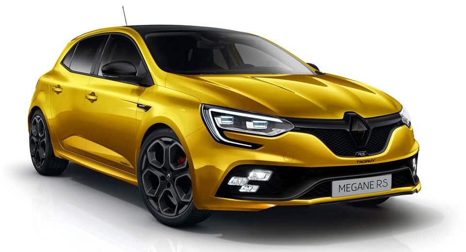 El Renault Mégane RS tendrá más de 300 CV y estas imágenes son muy sugerentes y realistas