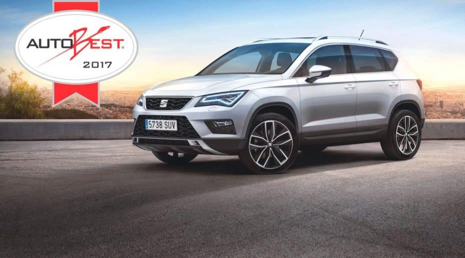 El premio europeo Autobest 2017 ya tiene ganador: El SEAT Ateca