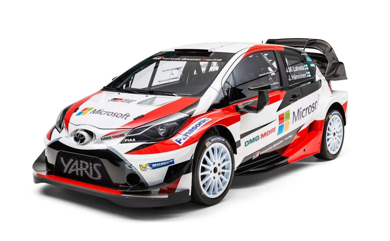 Más de 380 CV para 1.190 kg: ¡El Yaris WRC es salvaje!