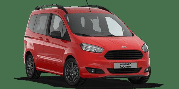 Nueva gama Ford Tourneo Courier: Ahora disponible en versión Sport