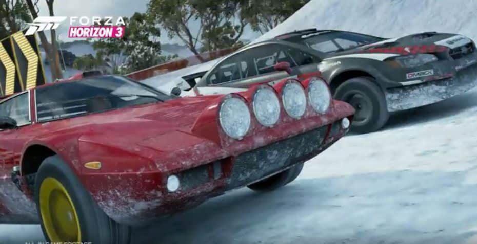Forza Horizon 3 Blizzard Mountain: Nieve y hielo a punta pala…