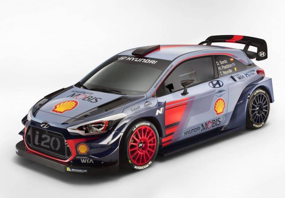Los coreanos buscan expulsar a los alemanes del WRC con este Hyundai i20 Coupé de 380 CV