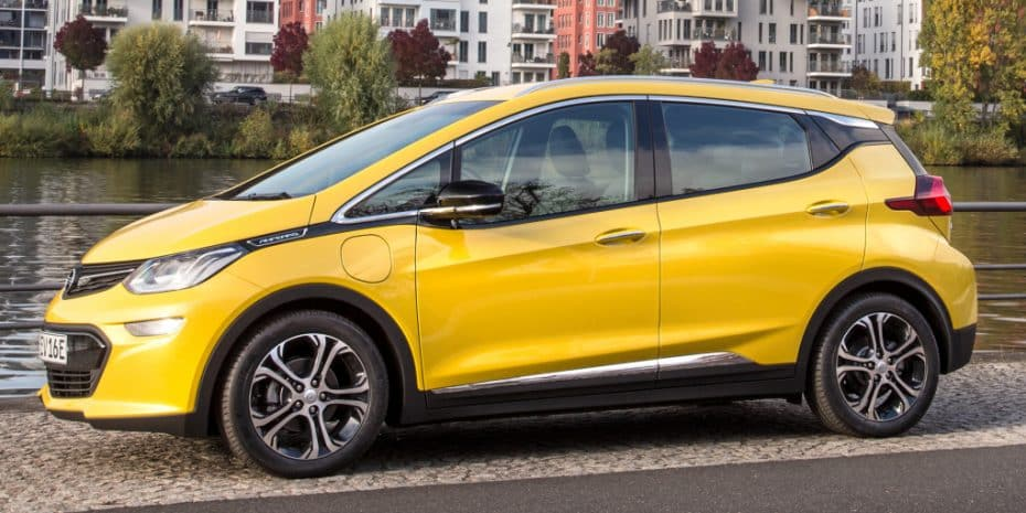 Nuevas imágenes del Opel Ampera-e que tardará bastante en llegar a España