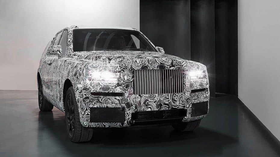 Proyecto Cullinan: ¿Rolls-Royce nos habla de todoterreno y no de SUV?