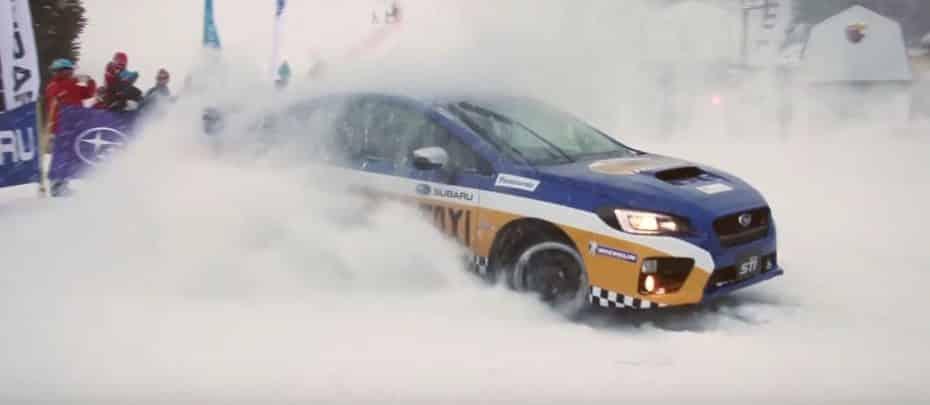 Olvídate de los remontes: Si vas a esquiar, este Subaru WRX STI será tu taxi