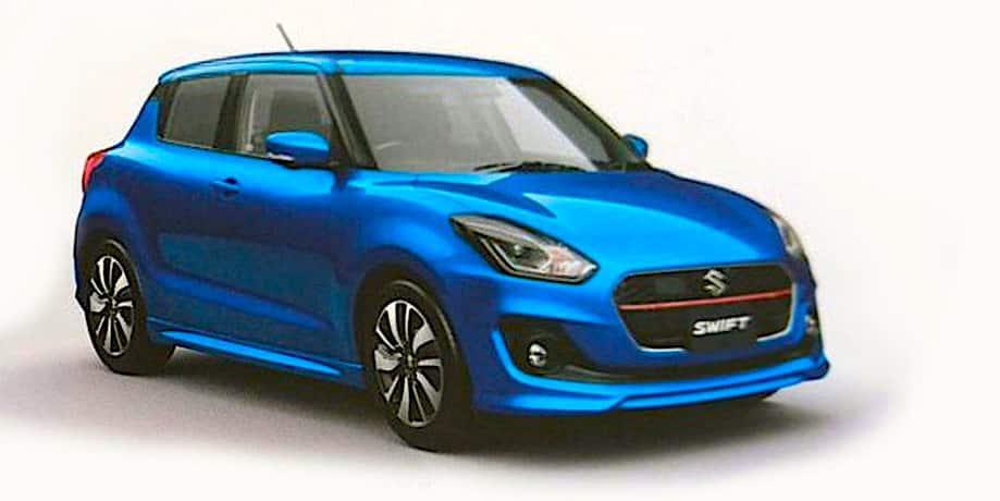 Confirmada la oferta de motores del nuevo Suzuki Swift: Llegará en verano