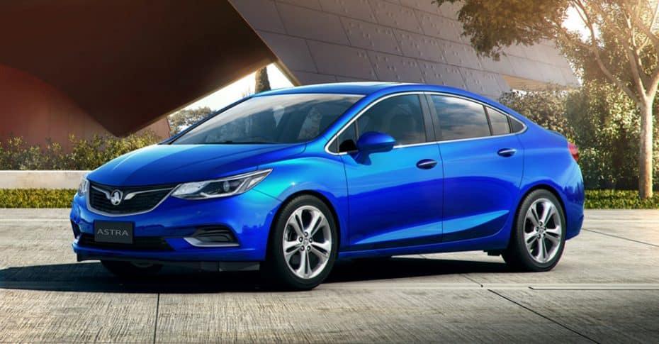 El nuevo Holden Astra Sedán es un experimento más de GM para Australia: Estamos seguros de que te suena