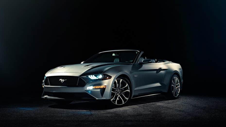 Primeras imágenes del renovado Ford Mustang Convertible: Toda una tentación